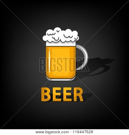 Beer - Vector illustration.