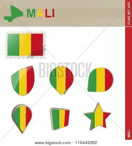 Mali Flag Set, Flag Set #57