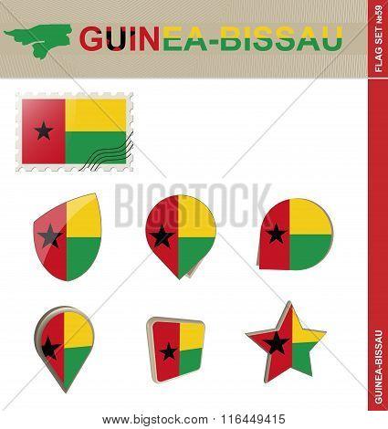 Guinea-bissau Flag Set, Flag Set #59