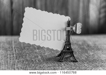 Declaration Of Love, A Note On The Eiffel Tower