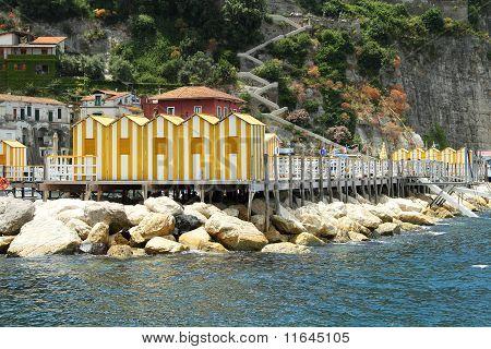 Yellow Bath Houses