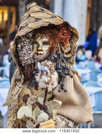 Forest Disguise - Venice Carnival 2014