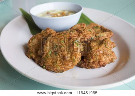 Thai Food, Spicy Fish Cake