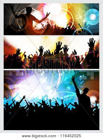 Concert illustration. Vector illustration