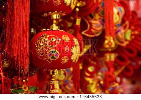 Traditional Chinese goldfish decorations