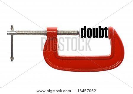 Less Doubt Concept