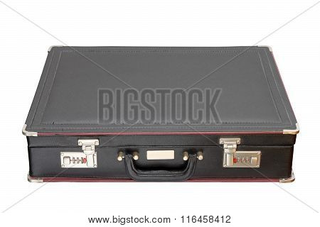 Isolated Black Briefcase