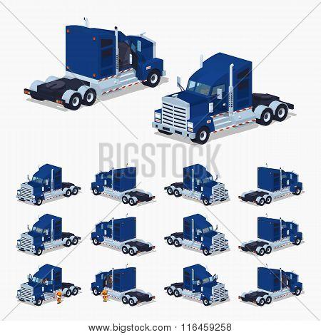 Heavy american truck