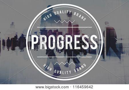 Progress Development Innovation Improvement Concept