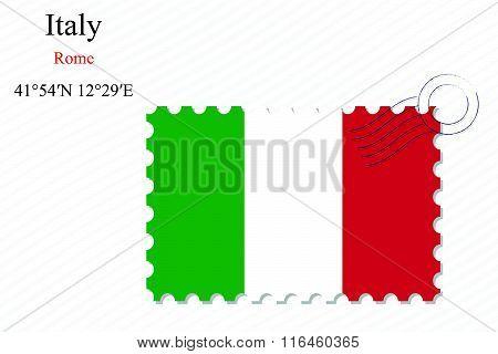 Italy Stamp Design