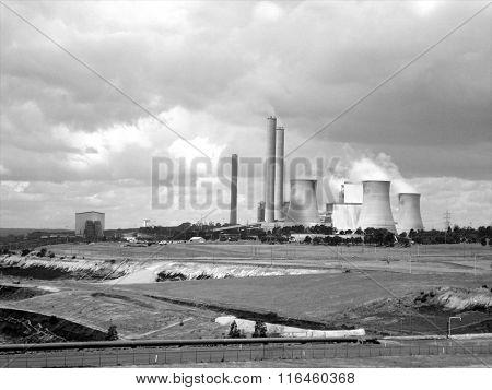 Power Station - Black & White