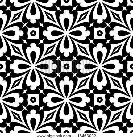 Design Seamless Decorative Flower Pattern