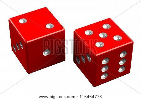 Pair Of Dice - Seven Out