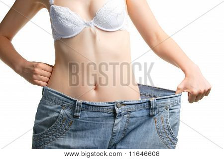 Women And Jeans Of The Greater Size
