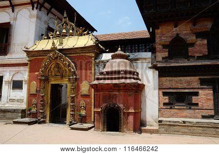Golden Gate At The Durbar Square, Bhaktapur, Kathmandu ,nepal, Asia