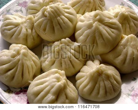 Cantonese food steamed bread