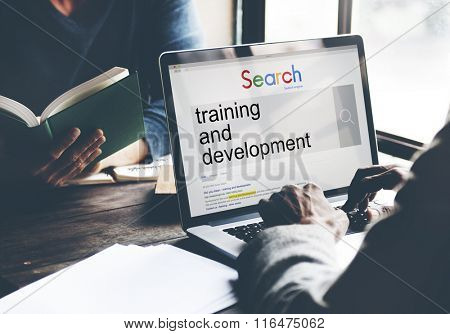 Training and Development Skill Learning Improvement Concept