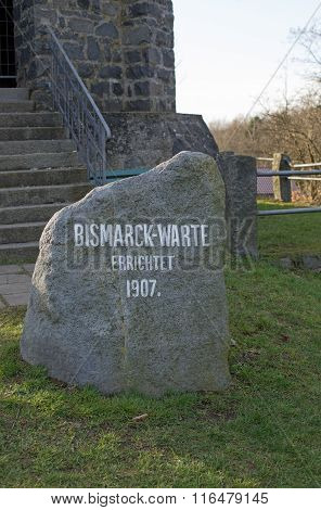Bismarckwarte (Bismarck observation point) in Lindenfels