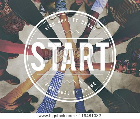 Start Beginning Launch Starting Ready Forward Concept