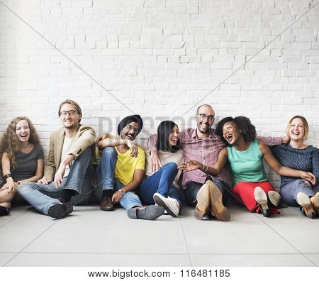 People Friendship Togetherness Leisure Happiness Concept