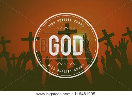 God Believe Holy Bible Jesus Concept
