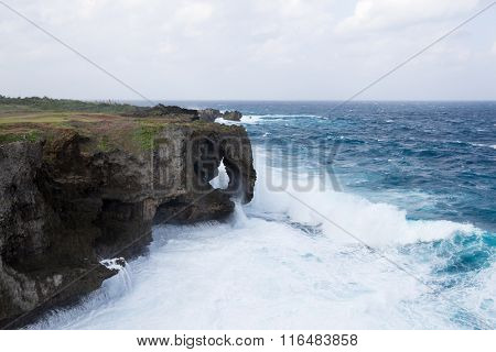 Manza Cape at Okinawa