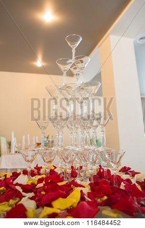 Champagne In Glasses