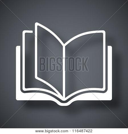 Vector Open Book Icon