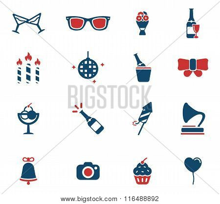 Party simply icons