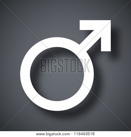 Vector Male Sex Symbol