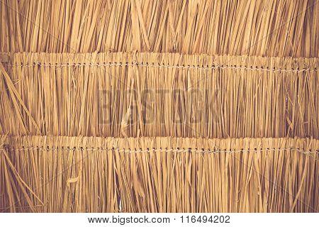 Grass Roof Texture Background