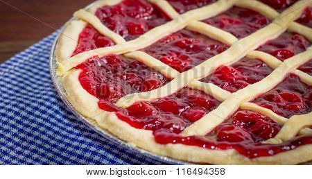 Hot Fresh Sweet Cherry Pie