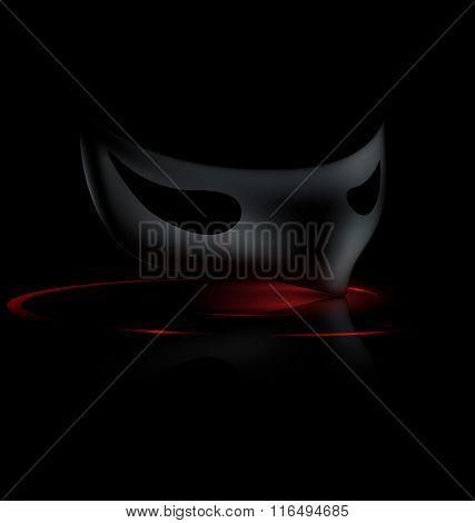 dark half mask