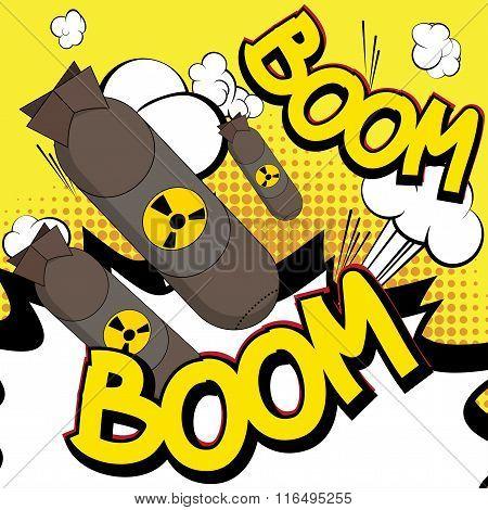 Comic Book, Cartoon Explosion.