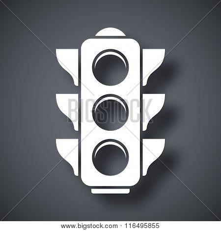 Vector Traffic Light Icon