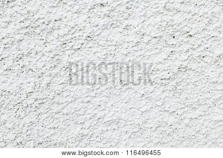 White Stuccoed  Facade Texture Background