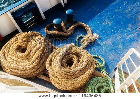 Two Old Fleecy Ropes