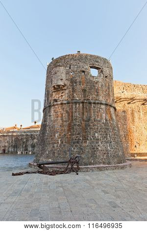 Gradenigo Tower Of Old Town Of Budva