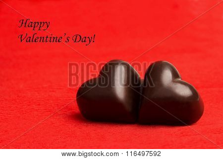 Tag Happy Valentine's Day With Two Candies