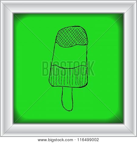 Illustration Of An Ice Lolly