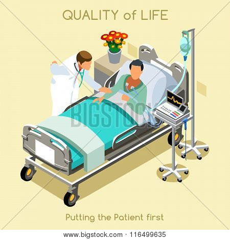 Patient Visit 01 People Isometric