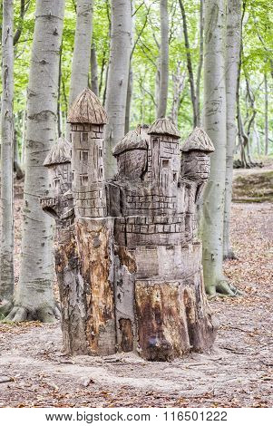 Sofiero Tree Stump Castle
