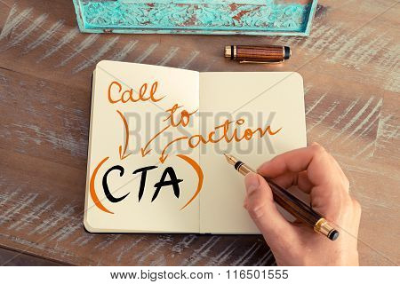 Business Acronym Cta Call To Action
