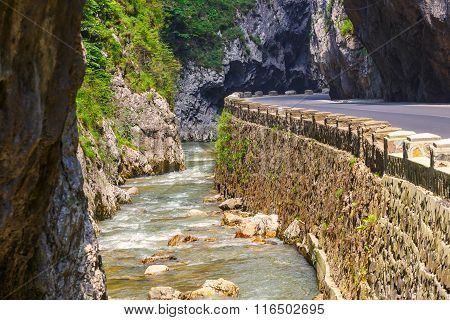 Bicaz Canyon In Romania, One Of The Most Spectacular Roads In Romania