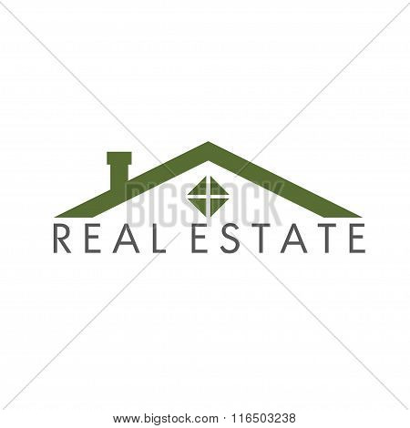 House Abstract Real Estate Vector Design Template