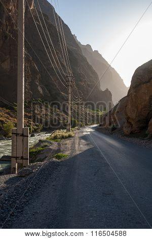 Bumpy Mountain Road