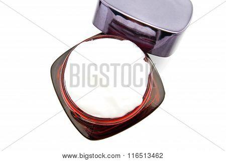 Red Jar Of Cream
