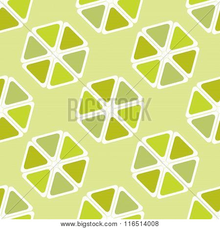 Lime Citrus Happy Summer Background.