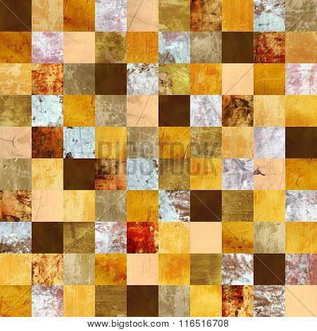 Seamless background with stucco patterns of different colors. Endless texture can be used for wallpaper, pattern fills, web page background, surface textures