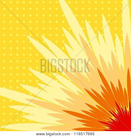 Comic Burst Vector Effects.